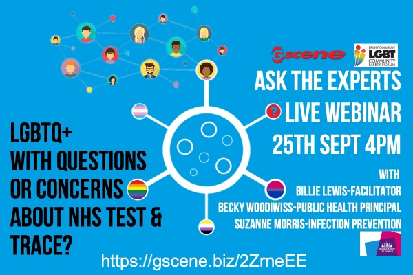 Join Gscene for free webinar on NHS Test & Trace system today 4pm
