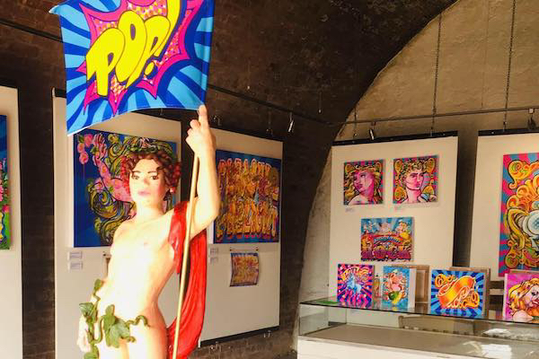 Seaside Sauce – an exhibition by local LGBTQ+ artist Dave Pop!