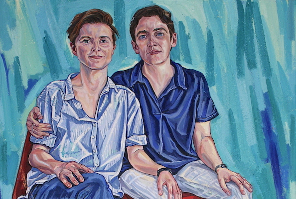 LGBTQ+ artist Sarah Jane Moon included in Royal Society of Portrait Painters' Annual Exhibition