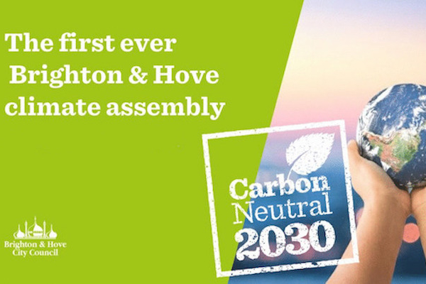 Brighton & Hove's Citizens Assembly on Climate meets for the first time