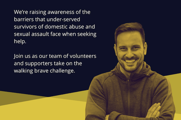 Stay Brave announce this year's Walking Brave will take place online