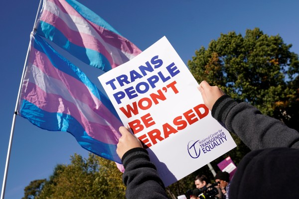 Two men charged with attacking trans women
