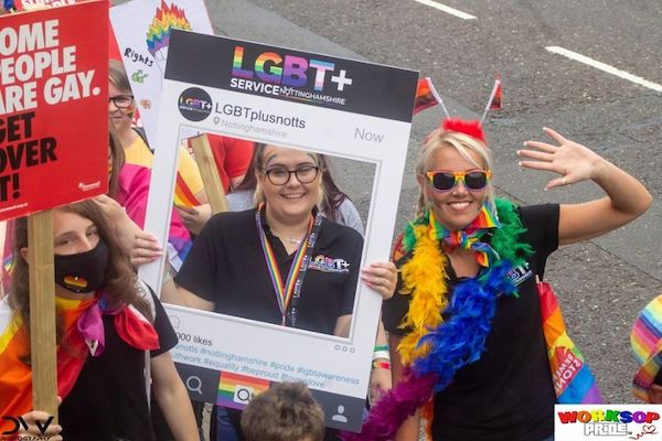 LGBTQ+ charity in Nottinghamshire receives over £37,000 in funding