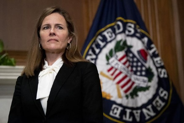 Amy Coney Barrett to judge first LGBTQ+ case