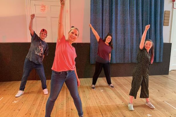 Two Brighton charities working with learning disabled artists team up to get everybody dancing this Christmas