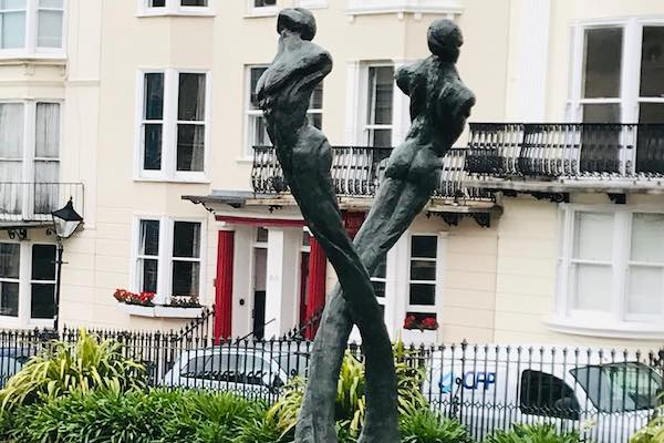 Brighton & Hove Aids Memorial gets spruced up for World Aids Day
