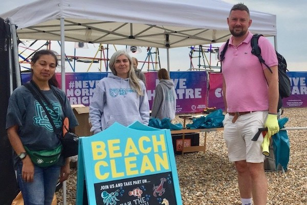 Green council leader Phélim Mac Cafferty says a big thank you for the big tidy up