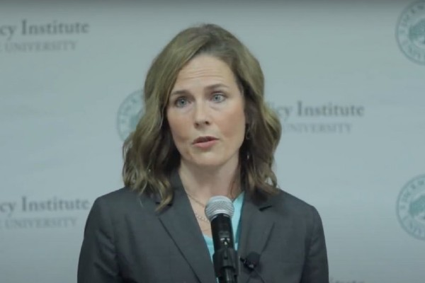 Amy Coney Barrett apologises for remarks about LGBTQ+ people