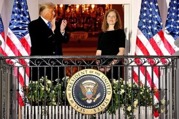 Amy Coney Barrett confirmed as Supreme Court justice