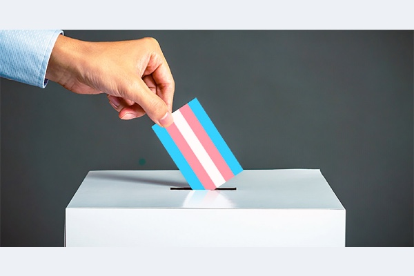 Trans and gender non-conforming Americans facing barriers to voting