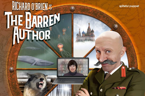 REVIEW: Audio comedy series – The Barren Author