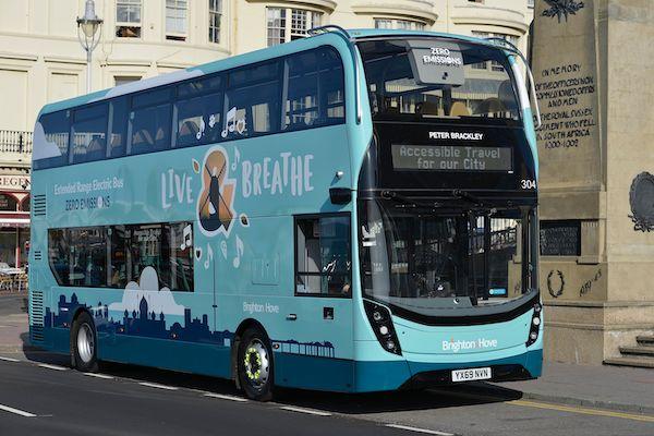 Brighton & Hove Buses publish Sustainability Report 2020