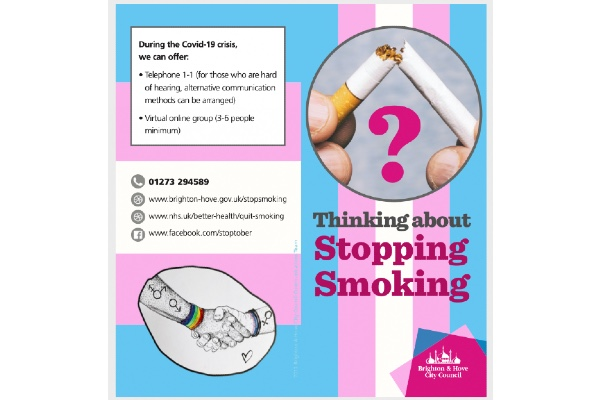 Stop smoking: support for trans people
