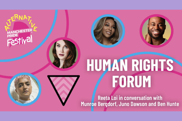 Manchester Pride holds first Human Rights Forum with prominent UK activists