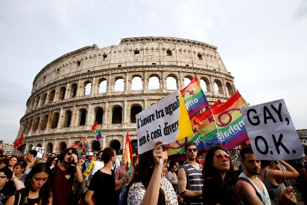 Italy moves to criminalise violence against LGBTQ+ people