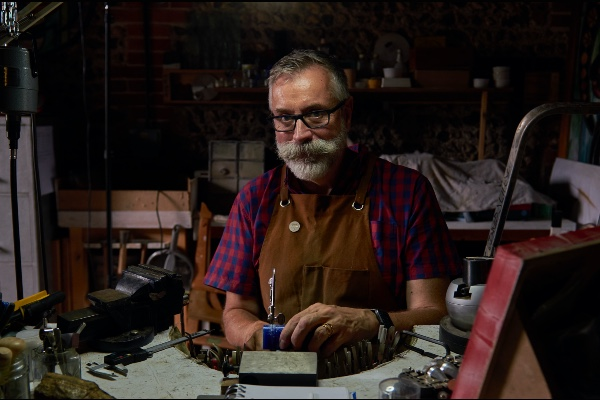 PREVIEW: Local jeweller mirrors a stained glass pioneer
