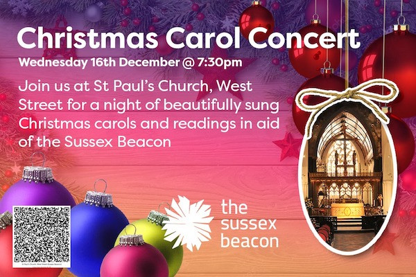 The Sussex Beacon announce Christmas Carol Concert