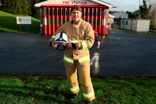 Trans firefighter awarded MBE