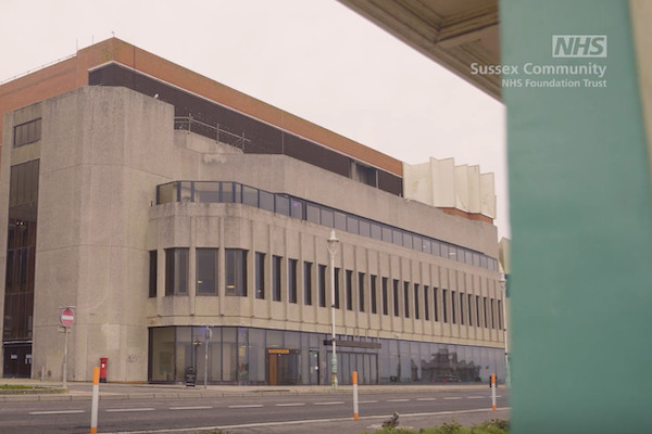 The Brighton Centre opens as vaccination centre