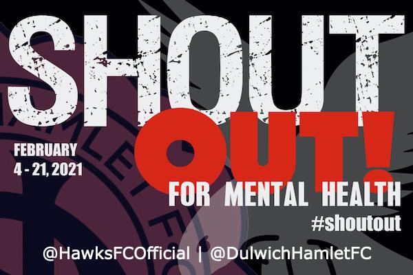 Whitehawk FC launch Shout Out for Mental Health campaign