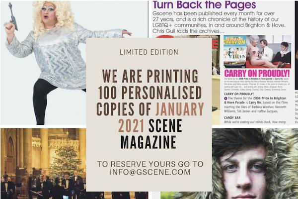Reserve a limited-edition copy of January 2021 Scene magazine