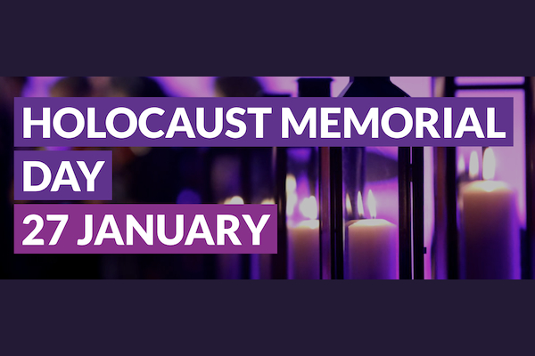 Holocaust Memorial Day – be the light in the darkness