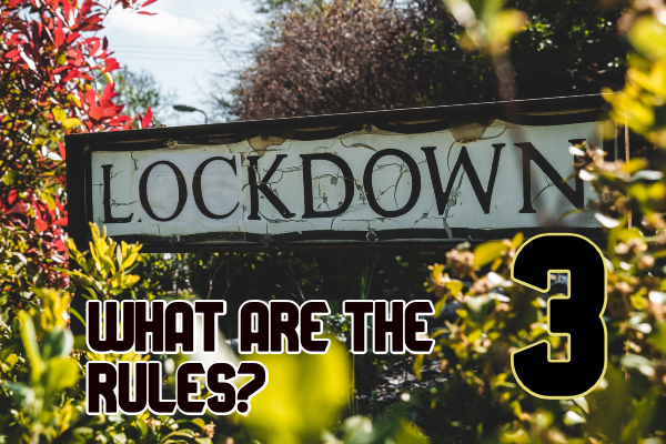 Lockdown 3: what are the rules?