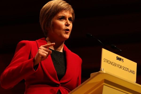Nicola Sturgeon condemns transphobia
