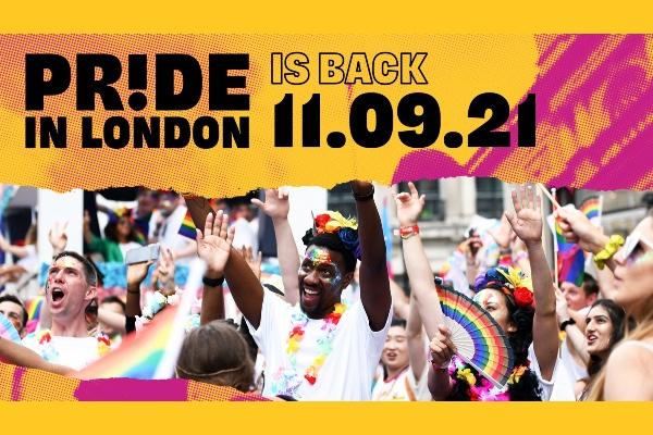 Pride in London announces return for 2021