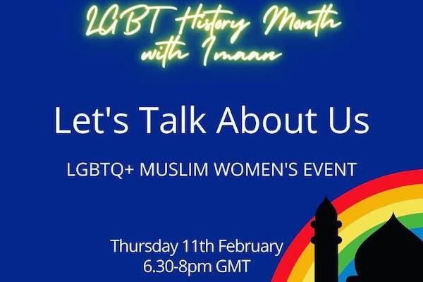 Imaan LGBTQ+ to host event for LGBTQ+ Muslim women