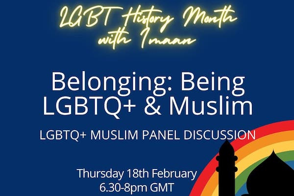Imaan LGBTQ+ to host event for LGBTQ+ Muslims