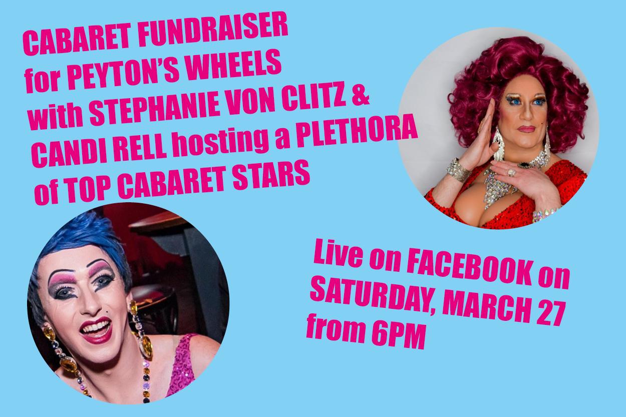 Cabaret fundraiser announced