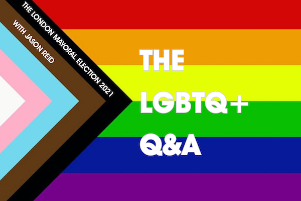 London Mayoral Election 2021: The LGBTQ+ Q&A