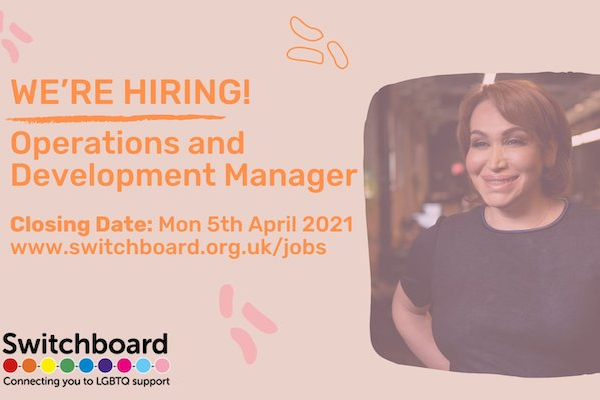Switchboard is recruiting!