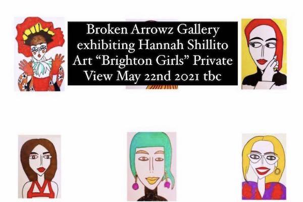 Artist draws over 100 Brighton women