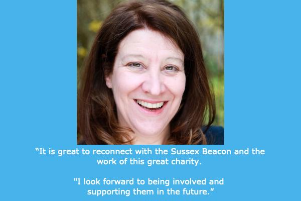 Jill Nalder becomes Sussex Beacon patron