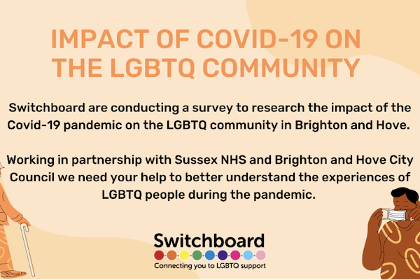 Survey to research the impact of Covid-19 on LGBTQ+