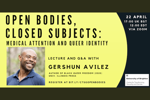 Guest lecture and Q&A with Dr GerShun Avilez