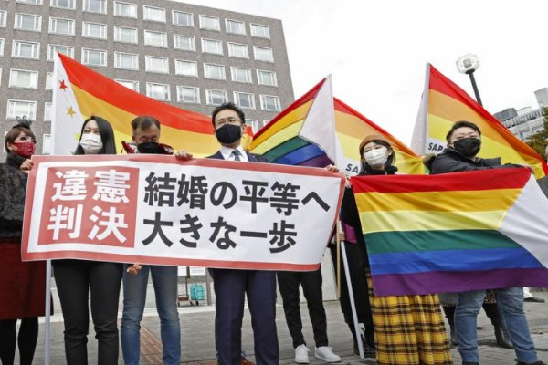 Japanese court rules same-sex marriage ban is unconstitutional