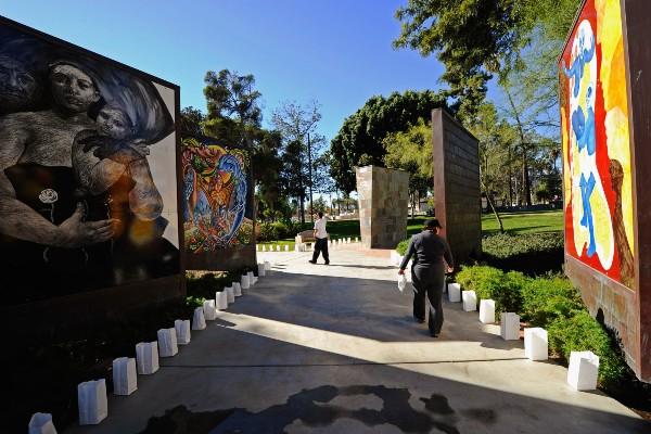 LA AIDS monument begins renovation