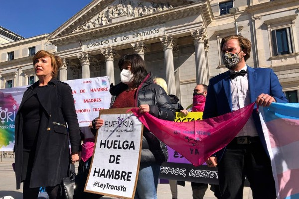 Spanish trans activists call for gender recognition law to be passed