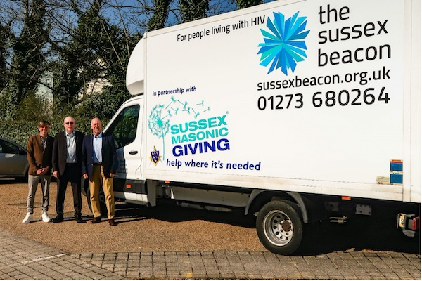 Sussex Freemasons raises £25k for Sussex Beacon