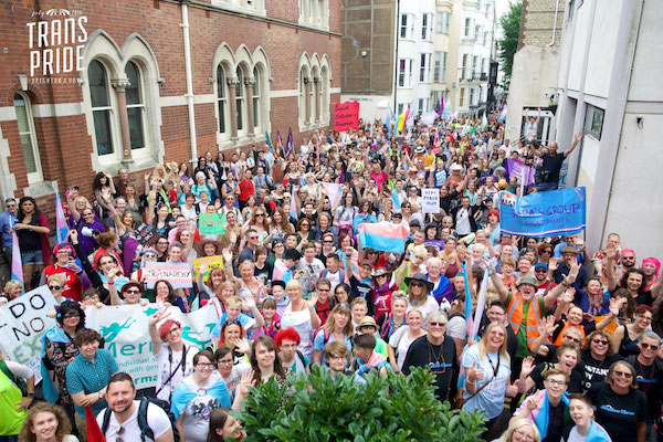 Trans Pride Brighton & Hove update
