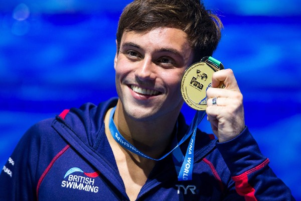 Tom Daley condemns JK Rowling's anti-trans comments