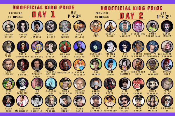 Macho Man Drag UK announces 'Unofficial King Pride'