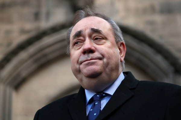 Alex Salmond defends Margaret Lynch after anti-LGBTQ+ comments