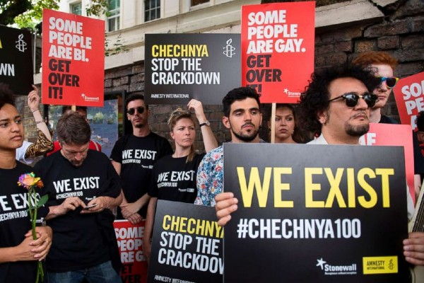 Chechen leaders facing charges of 'crimes against humanity'