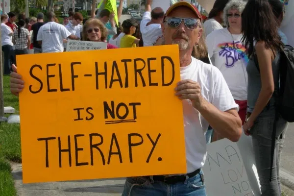 92% trans conversion therapy survivors experience mental health difficulties