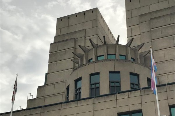MI6 flies trans flag for the first time