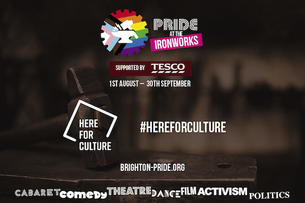 'Pride at the Ironworks' to support Brighton Rainbow Fund